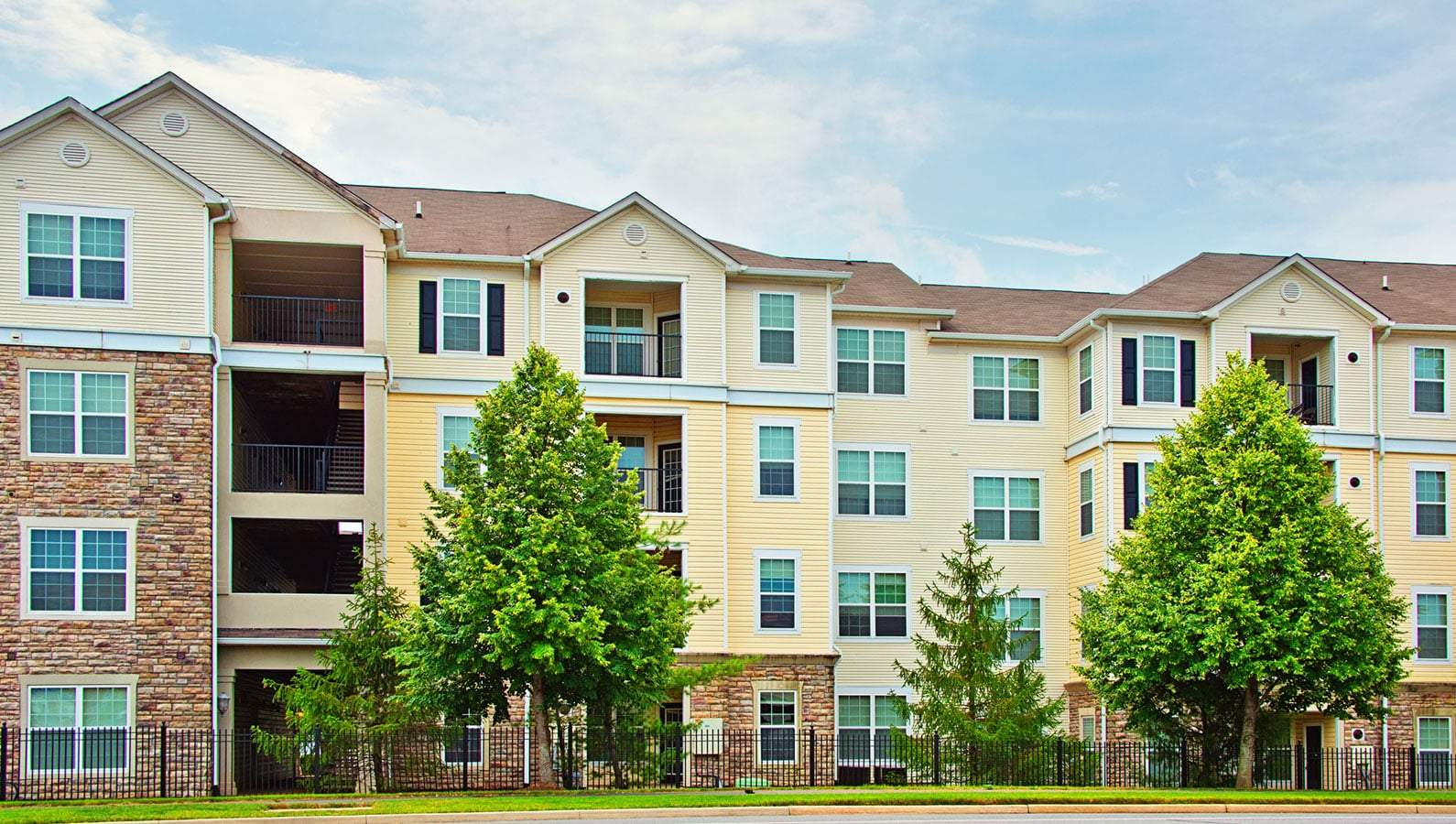 commercial multifamily real estate has low volatility