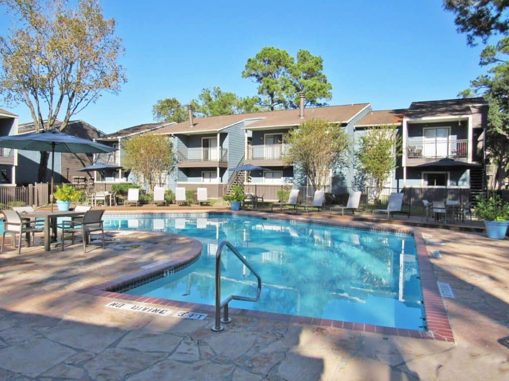 One of our commercial multifamily properties purchased by pooling fractional investors.