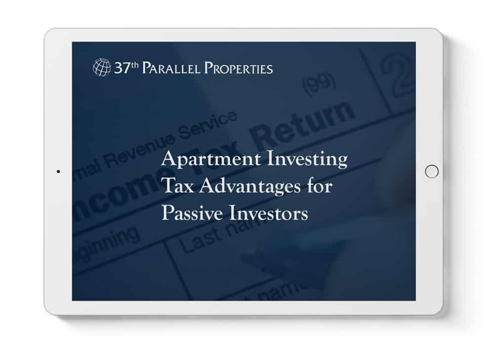 tax advantages for passive investors